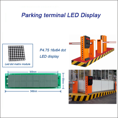 Parking access control LED Display